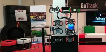 """GoTrack New Products Presented At The 26^ """"IKA KART2000"""" – Karting Fair On January 2018 In Offenbach (Germany)"""